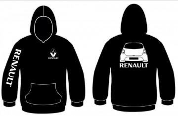 Sweatshirt com capuz para Renault Twingo 2
