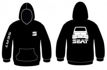 Sweatshirt com capuz para Seat Marbella