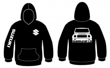 Sweatshirt com capuz para Suzuki Samurai 1.3