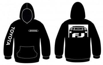 Sweatshirt com capuz para Toyota FJ