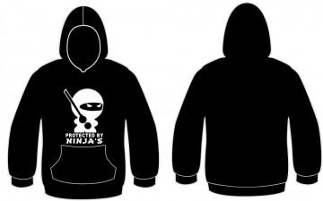 Sweatshirt com capuz - Protected by Ninja´s