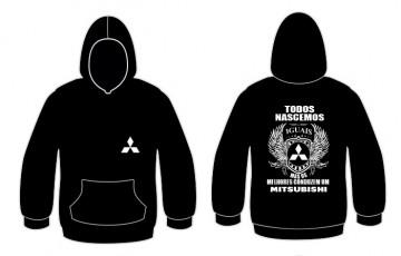 Sweatshirt com capuz Todos Nascemos (Mitsubishi)