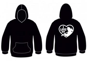Sweatshirt para I Love My Bombeiro