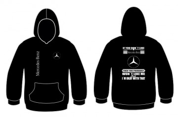 "Sweatshirt para "" If you don't like "" Mercedes"
