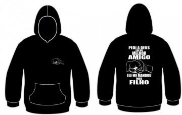 Sweatshirt para Pedi a deus