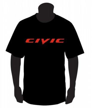 T-shirt com  Civic