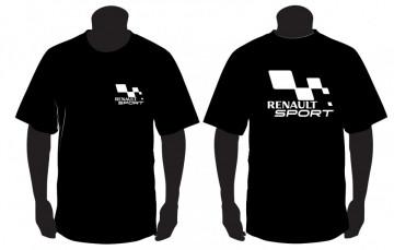 T-shirt com Renault Sport