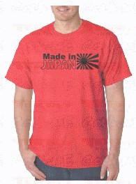 T-shirt  - MADE IN JAPAN