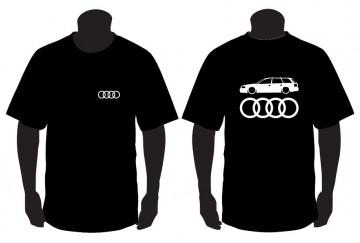 T-shirt para Audi A6 C5 Avant