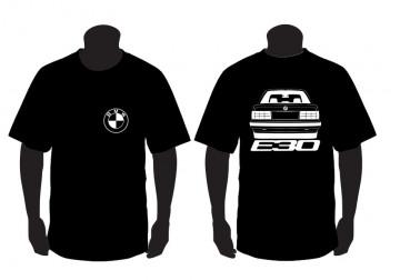 T-shirt para BMW E30 ( Traseira)
