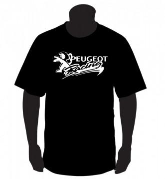 T-shirt  para Peugeot Racing