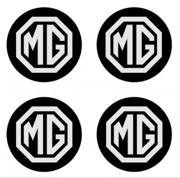 4 Autocolantes Para Centros de Jantes para MG