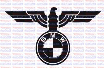 Autocolante - Águia BMW