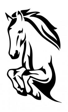 Autocolante - Cavalo