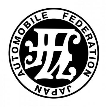 Autocolante com Automobile Federation Japan