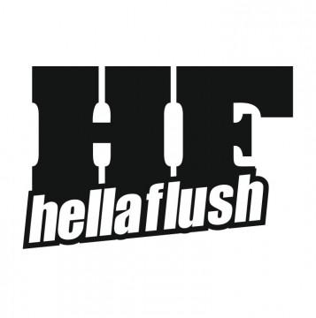 Autocolante com Hella Flush