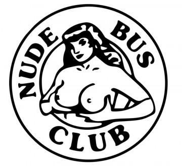 Autocolante com Nude bus club