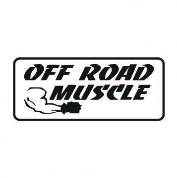 Autocolante com Off Road Muscle
