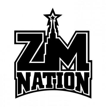 Autocolante com ZM Nation
