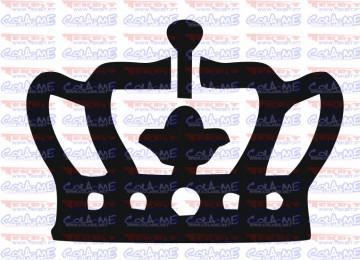 Autocolante - Coroa 6