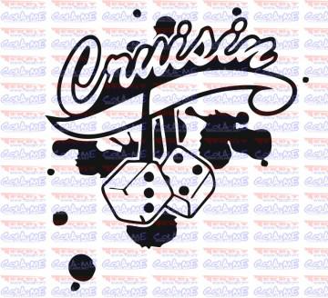 Autocolante - Cruisin
