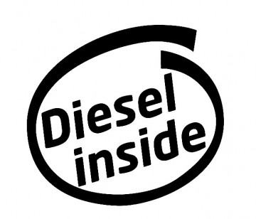 Autocolante - Diesel inside