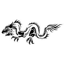 Autocolante - Dragão 3