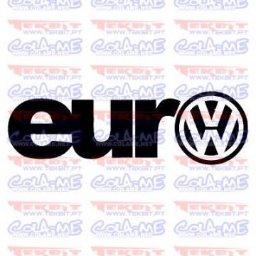 Autocolante - Euro VW
