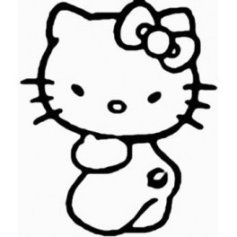 Autocolante - Hello Kitty 4