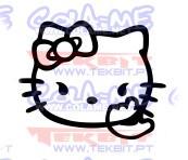 Autocolante - Hello Kitty