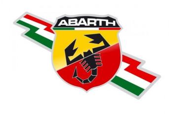 Autocolante Impresso - Abarth 2