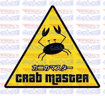 Autocolante Impresso - Crab Master