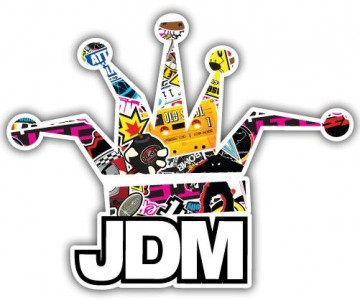 Autocolante Impresso - JDM King Bomb Sticker