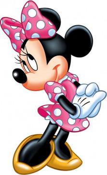 Autocolante Impresso - Minnie