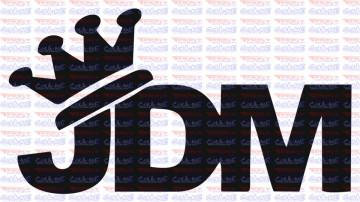 Autocolante - JDM Crown