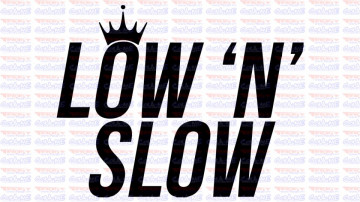 Autocolante - LOW N SLOW