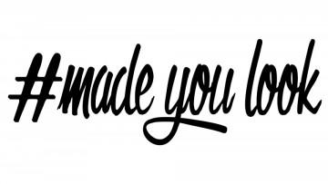 Autocolante - Made you look