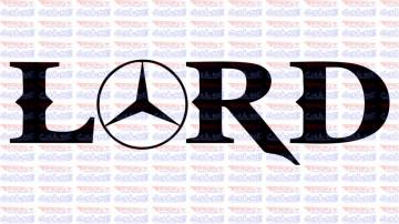 Autocolante - Mercedes Lord