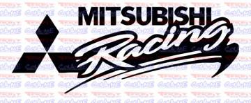 Autocolante - Mitsubishi Racing
