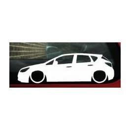 Autocolante - Opel Astra J 5 Portas