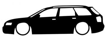 Autocolante para Audi A4 B6 Avant