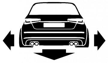 Autocolante para Audi A6