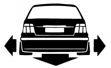 Autocolante para BMW E36 Compact
