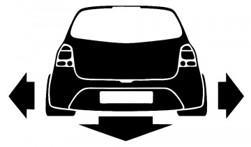 Autocolante para Renault Twingo