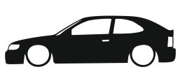Autocolante para Toyota corolla