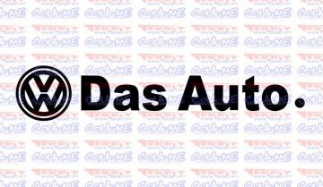 Autocolante - VW Das Auto.