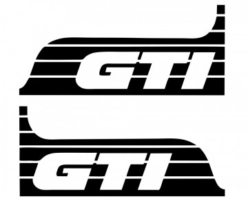 Autocolantes -GTI (Par)