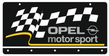 Chaveiro em Acrílico com Opel Motorsport