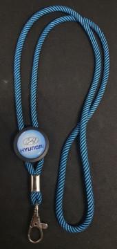 Fita Porta Chaves (lanyard) de Pescoço Ajustável para Hyundai