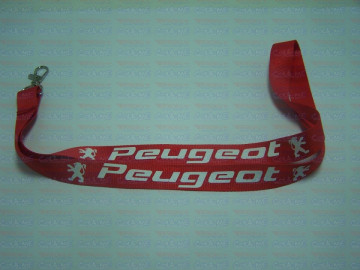 Fita Porta Chaves - Peugeot